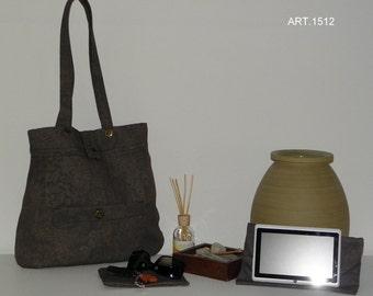 Damask fabric bag + portatablet + Foyer art. 1512