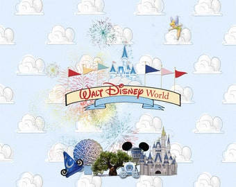 Disney Digital Scrapbook Album Covers
