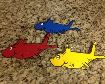 Dr. Seuss a Fish Set
