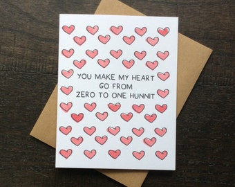 Funny card for boyfriend, funny card for girlfriend, funny card for him, funny valentine card, funny anniversary card