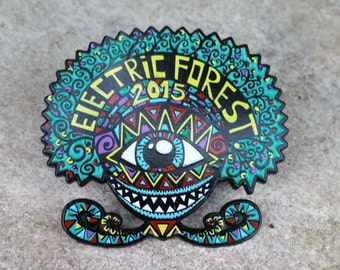 Unique Electric Forest 2015 Pin