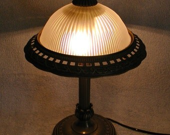 Table Lamp - Molded Metal Edge