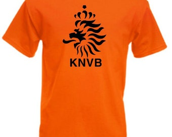 Dutch Holland Netherland KNVB - Mens/Adults Tshirt - Novelty/Funny/Gift/Present/Fancy Dress/Party/Theme Day