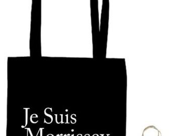 Je Suis Morrissey - Morrissey The Smiths Fan - Lightweight Souvenir Tote Bag