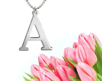 Initial Necklace (silver)