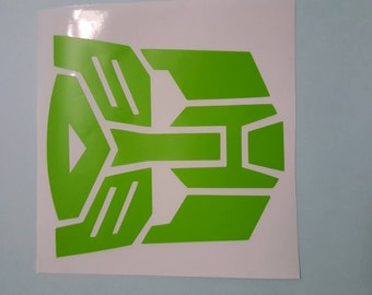 Transformers Autobot window decal