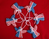 American Angel Folk Art/Ornament/Decoration/Memorial Day/July 4th/Labor Day/red white blue/patriotic/housewarming/gift under 30/10