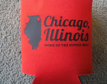 Chicago, ILLINOIS - can cooler