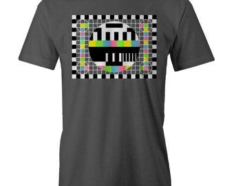 BIG BANG THEORY Test Pattern Sheldon T-shirt Dr Cooper Bazin