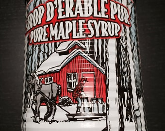 Maple syrup can 540ml from Quebec, Canada