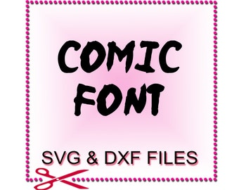 Monogram Font SVG - Font Design Files For Use With Your Silhouette