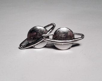 Saturn Stud Earrings