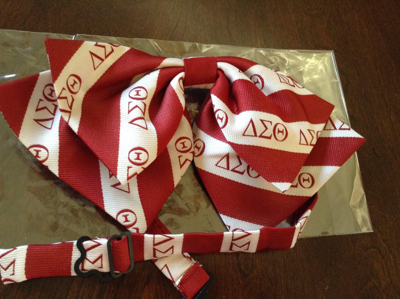 Delta Sigma Theta Custom Bow Tie