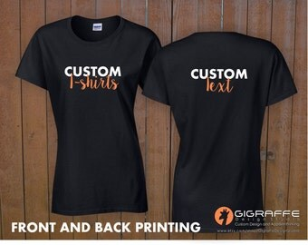 Graphics etsy for Shirts with graphics on the back