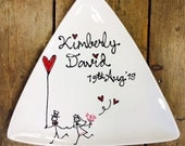 Hand-painted Wedding Gift...