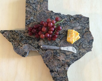 Texas Serving Tray - 16 inch - Granite - Free Shipping