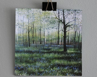 Belle of the Ball - Fine Art card - Trees - Woodland