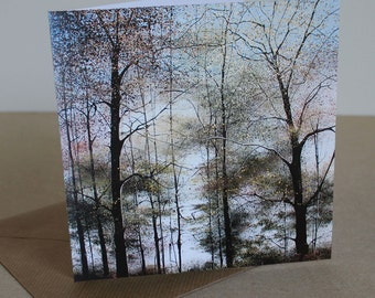 Lost in Today - Fine Art card - Trees - Woodland