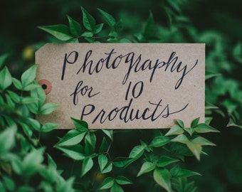 Custom Styling and Product Photography Services for 10 Products (3 photos ea, 30 photos total) to Increase Sales and Grow Your Etsy Business