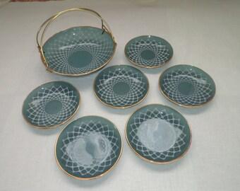 """Vintage Gift Set """"Surprise"""" For Table Serving. 1970-1980"""