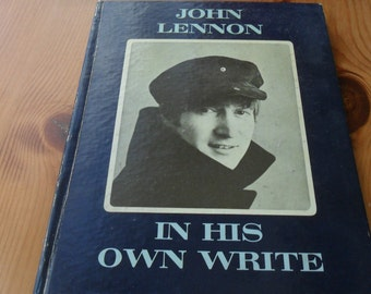 JOHN LENNON  in his own write signed to a friend JL