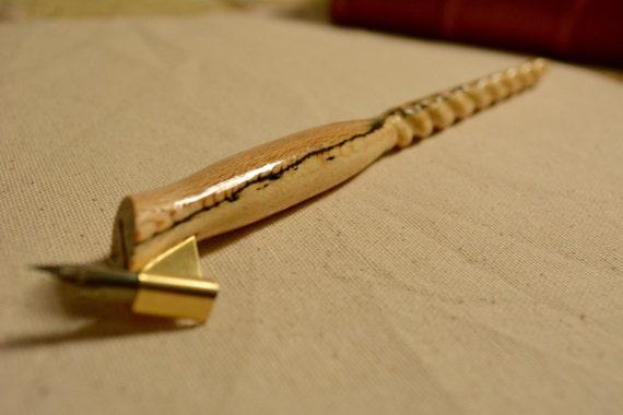 Oblique Calligraphy Pen Holder Ambrosia Maple