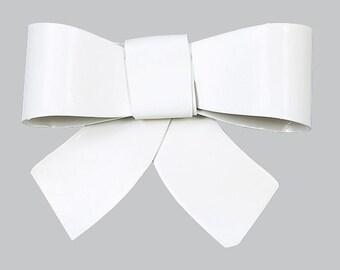 White Bow Magnet MG2400