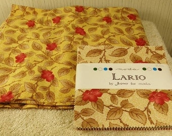 Moda Two Lario Charm Packs and yardage by 3 Sisters-FREE SHIPPING