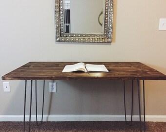 Hairpin Leg Desk Table (24in x 48in)