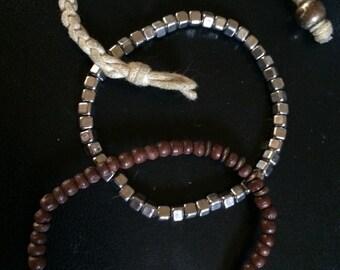 Boho beaded bracelet sets