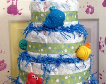 Commotion in the Ocean? Diaper Cake
