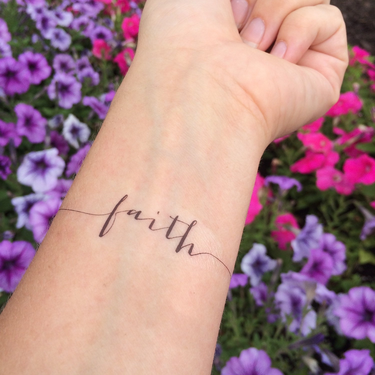 Faith Tattoo Arm Tatto...