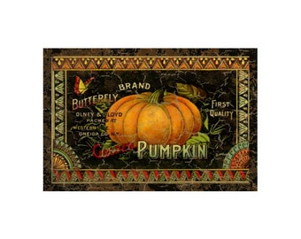 Pumpkin Sign