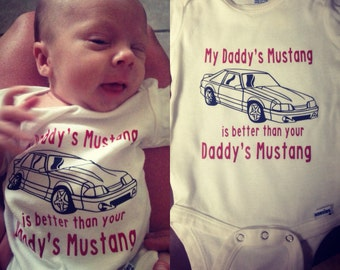 Mustang onesie/shirt