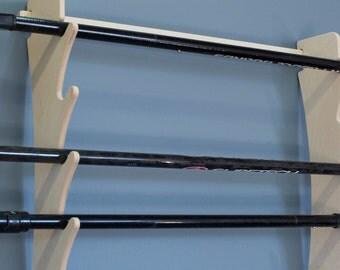 Premium Birch Paddle & Oar Wall Mounted Storage Rack