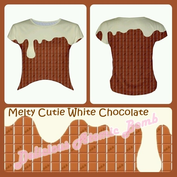 Melty Cutie White Chocolate Crop Top