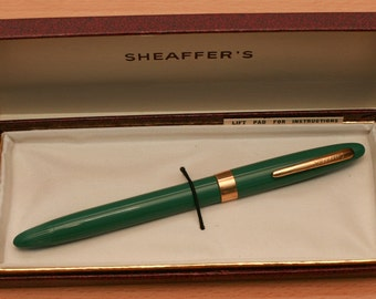Vintage fountain pen Sheaffers with 14k gold nib
