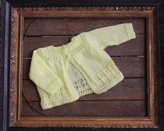 Baby Knitted Cardigan 3+ months