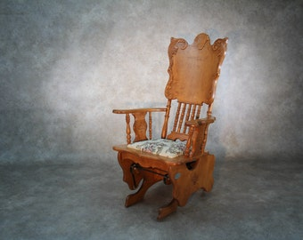 "Rocking chair, ""Empire"" line."