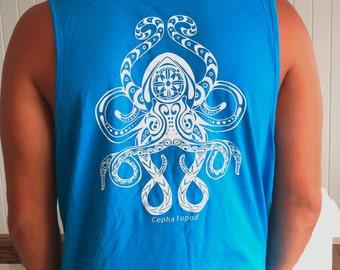 Turquoise Octopus Tank