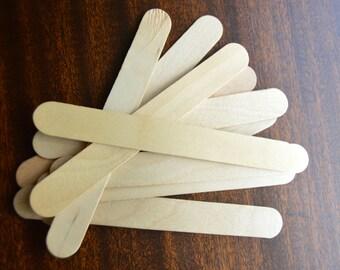 100 Jumbo Craft Sticks