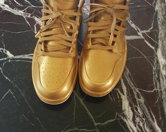 "Jordan 1's ""24 Karat Gold"""