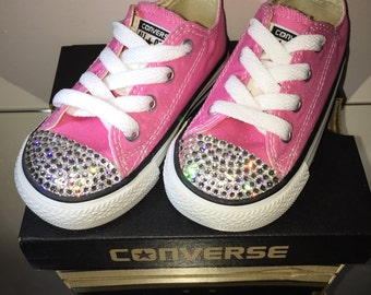 Converse All Stars with Swarovski Elements Toddler