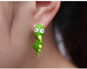Cartoon dinosaur Earrings