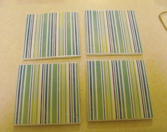 Ceramic Coasters, set of 4