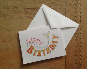 Birthday Cards (10-card set)