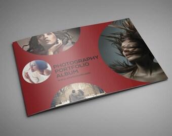 8.5x11 photographer portfolio album