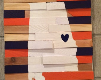 College Wall Hanging - Auburn University