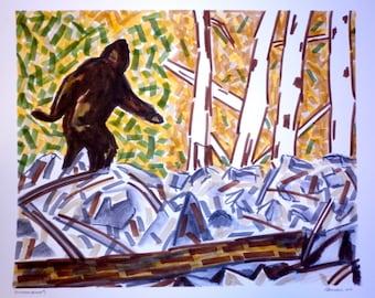 Patterson-Gimlin Bigfoot #1 (original)