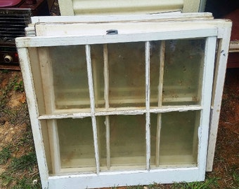 Vintage Windows from a Plantation Farm House